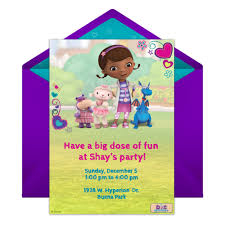 create party invitation doc mcstuffins party online invitation disney family