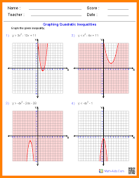 6+ graphing quadratic functions worksheet | formatting letter