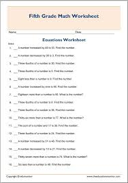 simplifying and solving algebra equations word problems