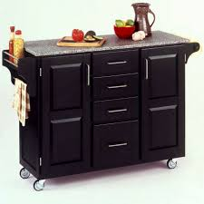 Portable Kitchen Cabinet Portable Kitchen Island Table In White Color With Storage How To
