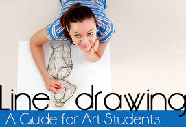 Next, draw the dotted line that you'd like to make square. Line Drawing A Guide For Art Students