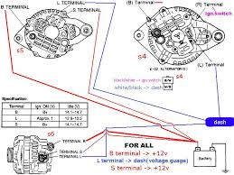 denso one wire alternator diagram schematics and wiring diagrams 4 wire alternator wiring diagram eljac