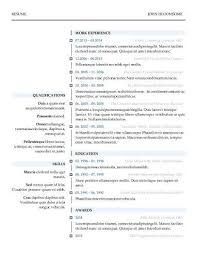 Simple Resume Templates Word Awesome Discreetliasons Modern Resume Templates [48 Examples Free