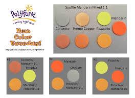 Cernit Color Chart Color Mixing Archives Sculpeysculpey