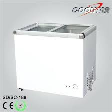 7 cubic foot chest freezer china feet transpa glass door ice cream 35 cu ft