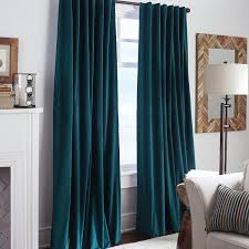Turquoise Curtains For Living Room Sheridan Velvet Curtain Ink Pier 1 Imports Rugs And Curtains