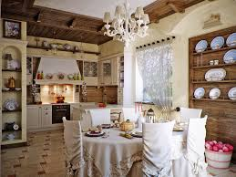 Shabby Chic Kitchen Best Shabby Chic Kitchen Decor With Nice Elegant Chandelier Jerseysl