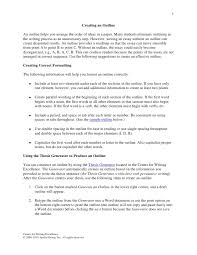 How To Do A Presentation Outline Presentation Outline