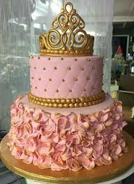 Pink And Gold Quinceanera Cake Quinceanera Party Ideas And Dresses