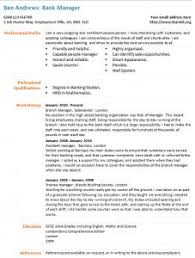 Resume CV Cover Letter  car sales cover letter chief     Dayjob Buy this banking CV template now