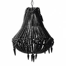 inspirational wooden bead chandelier chandelierlampsinco for modern home black beaded chandelier designs