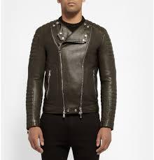 balmain leather jacket balmain t shirt balmain men leather jacket