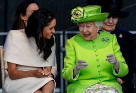 Image result for queen and meghan
