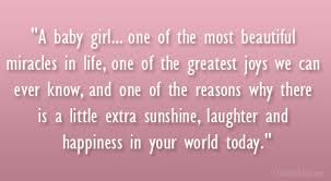 Beautiful Baby Girl Quotes
