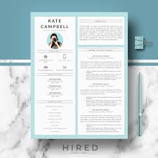 Modern Resume Template for MS Word:
