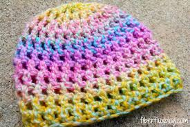 Free Crochet Patterns For Newborns Mesmerizing Fiber Flux Free Crochet PatternConfetti Newborn Hat