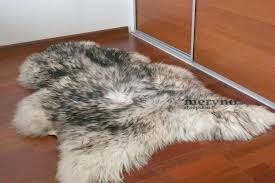 white fur rug black and white fur rug black white sheepskin black and white fur area white fur rug