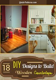 wooden countertops picture