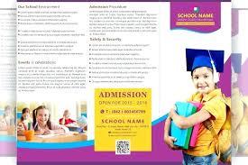 School Brochure Design Pdf Indian Bank Flyer Template