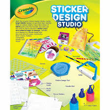 Sticker Design Studio Crayola Crayola Sticker Design Studio