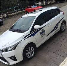 Car Toyota cause dazzle Corolla the whole car pull to spend Ralink ...