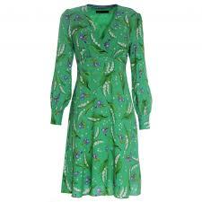 Designer Long Midi Dresses Printed Long Sleeve Midi Dress