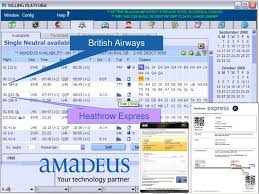 Amadeus.net use cookies to store values from your previous search criteria and improve your experience. Amadeus To Remove Airport Express Services From Gds News