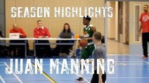JUAN MANNING 6'2 Guard - 18/19 Season Highlights! - YouTube