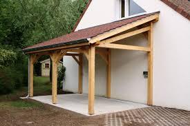 Garage 1 Pente 2 70mx7 00m Cerisier Abris De Jardin En Bois Comment Fabriquer Un Abri Voiture