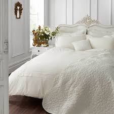 catherine lansfield home chantilly lace duvet cover set