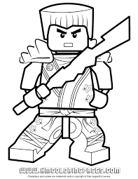 Small Picture Free Printable Lego Ninjago Coloring Pages Coloring Home