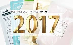 best of beauty best korean sheet mask 2017 korean skin care k beauty europe