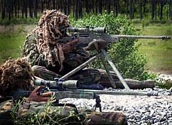 royal marine snipers with l115a1 sniper s