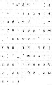 basic font information
