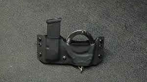 Handcuff And Magazine Holder Custom Kydex Safariland Handcuff Holster 100 Concealment YouTube 10