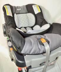 chicco car seat installation isofix