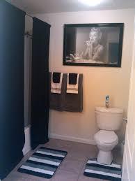 Our Marilyn Monroe bathroom.