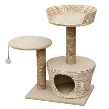 modern cat trees furniture. purrshire water hyacninth cat furniture modern tree trees