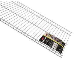 how to rubbermaid wire shelving top rubbermaid fasttrack garage 48 x 16 wire