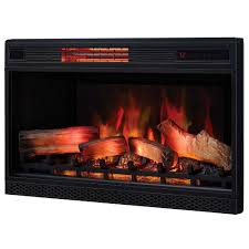 classicflame 32 in 3d spectrafire plus infrared electric fireplace insert 32ii042fgl