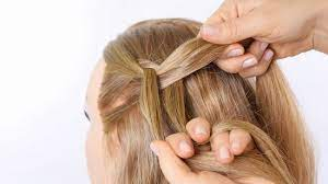 how to make a dutch braid with