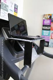 diy treadmill desk tutorial
