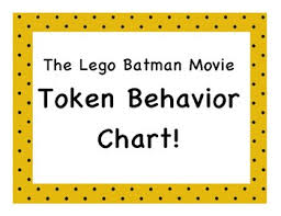 Lego Batman Reward Chart The Lego Batman Movie Token Behavior Chart