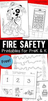 Fire Safety Worksheets for PreK & Kindergarten | Totschooling ...