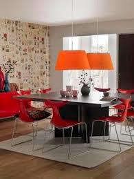 dining sets dining set and modern accessories id design bahrain orange pendants book wallpaper id design