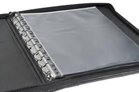 14 x17 premium leather photography portfolio case presentation case black