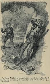 o henry an illustration for the story the ransom of red chief by the author o henry
