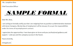 One Day Resignation Letter Impressive Simple Resignation Letter Sample 48 Month Notice In One Day Regarding