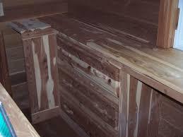 custom made walk in cedar closet