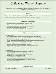 Child Care Teacher Resume Sample Child Care Teacher Resume Sample